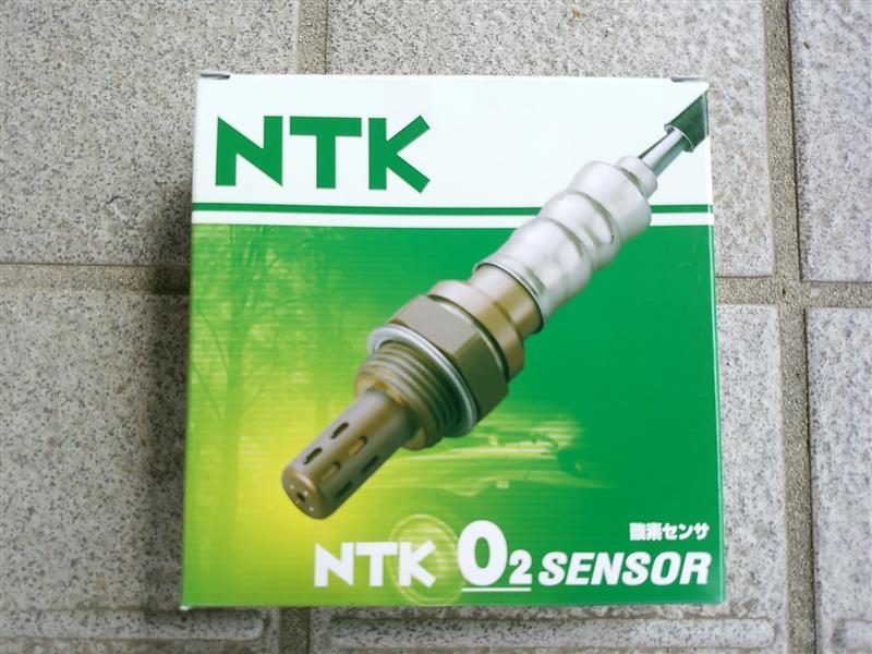 エンジンチェックランプ点灯のため02センサー交換