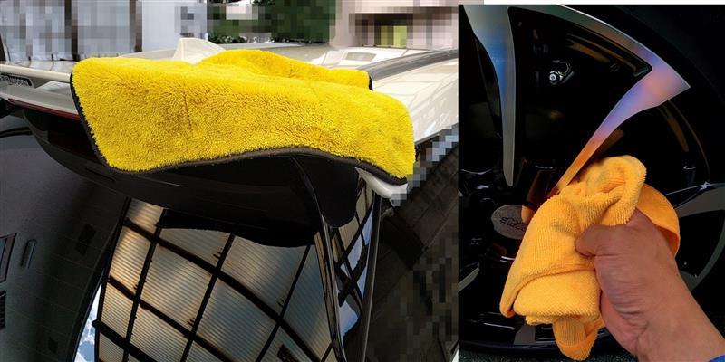 朝から洗車 ①
