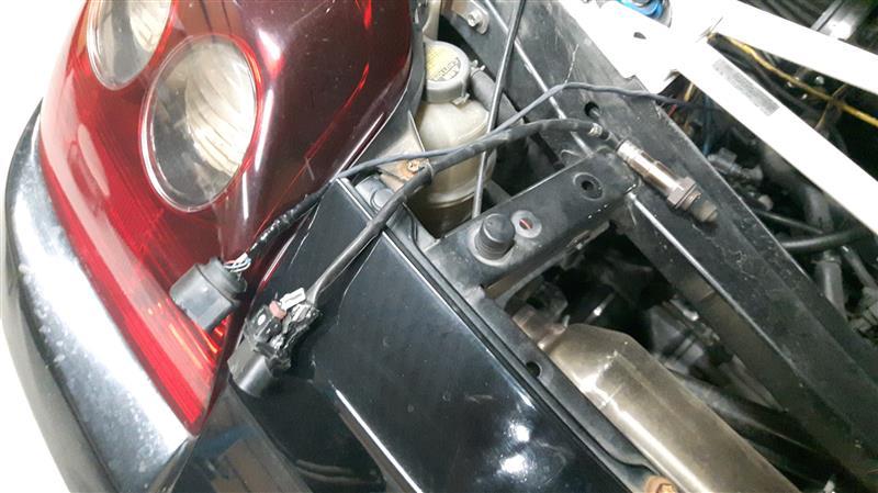 空燃比計のハーネス修理の続き