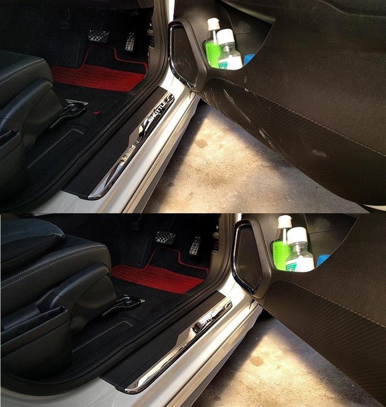 朝から洗車 ②