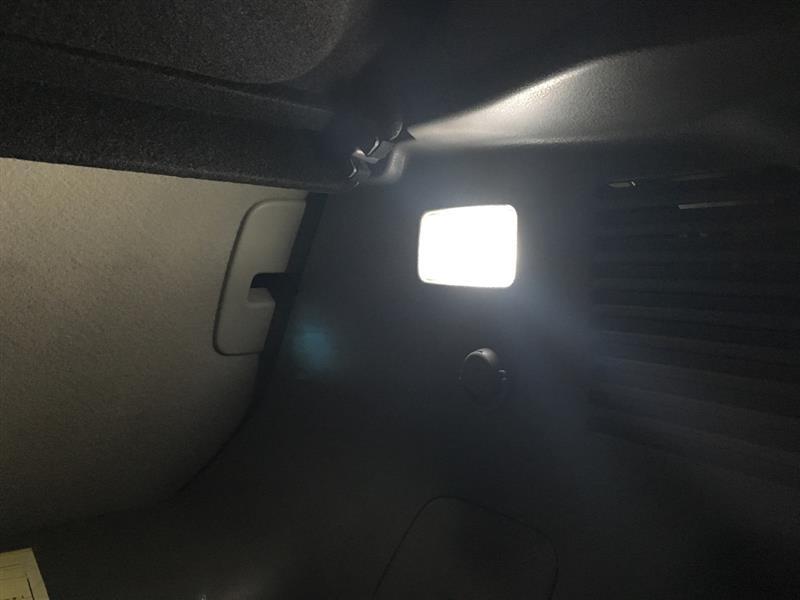 ラゲッジランプ LED化