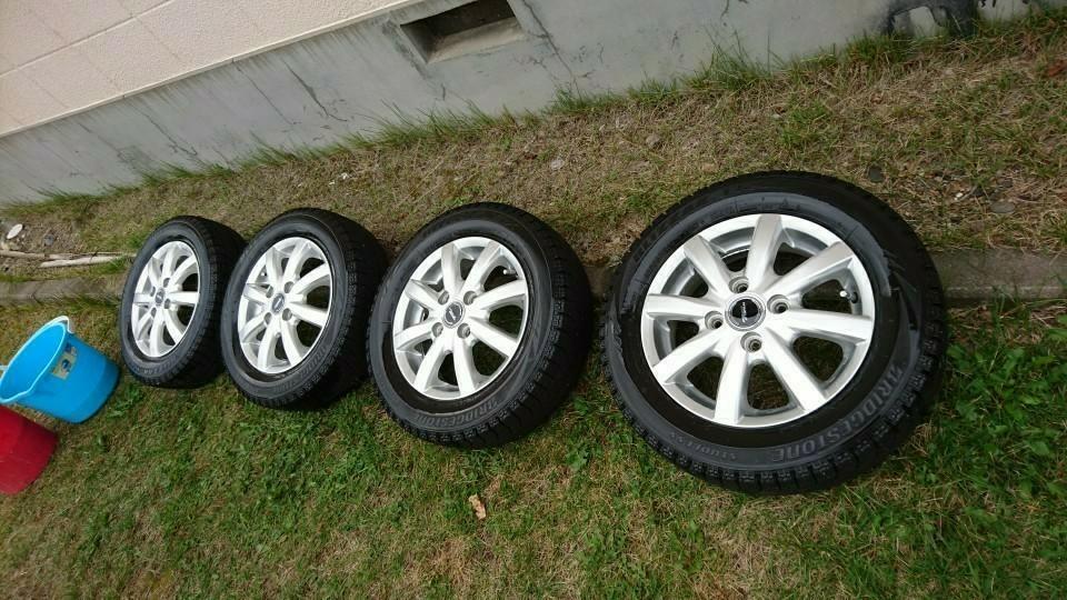 タイヤ洗浄!