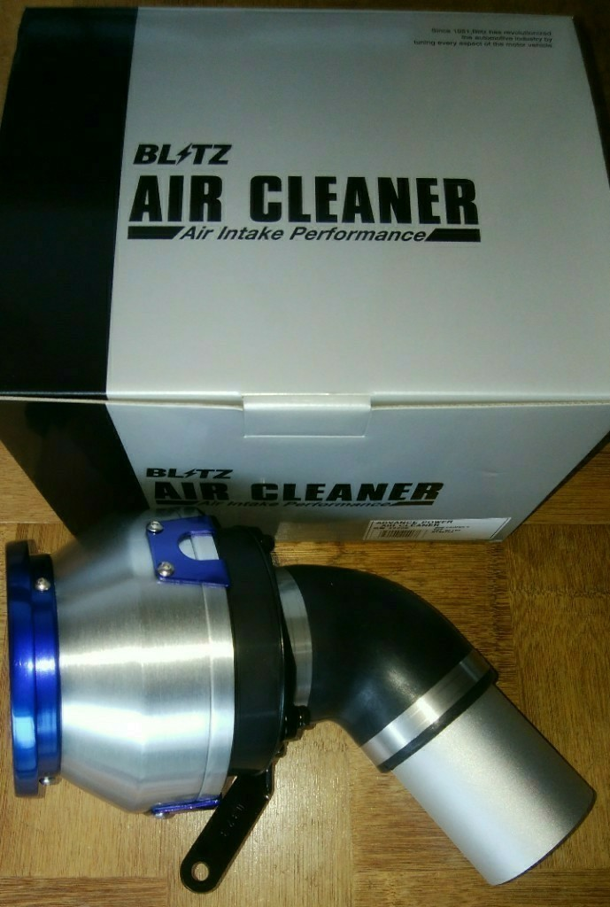 BLITZ-AG ADVANCE POWER AIR CLEANER 取り付け