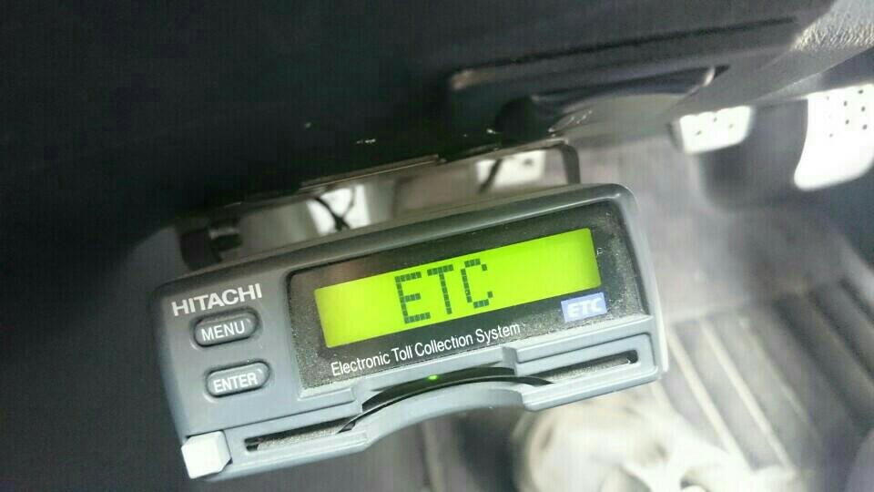 ETC電源入らず(^_^;)