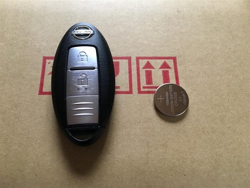インテリジェントキー 電池交換(2回目)