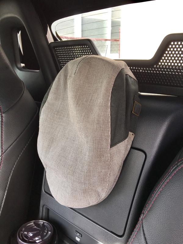 帽子ホルダーの設置