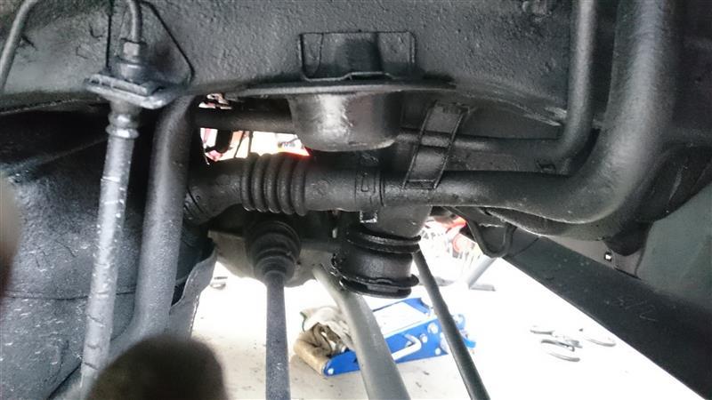 4WDにFF用のタナベ装着リア編