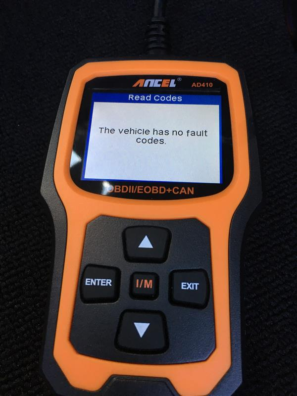 ANCEL AD410 OBD II コードリーダー