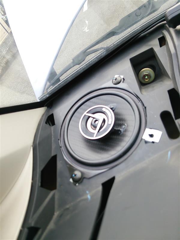 carrozzeria TS-F1030に交換