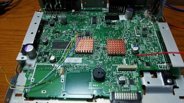 DEH-7100改DAC その1