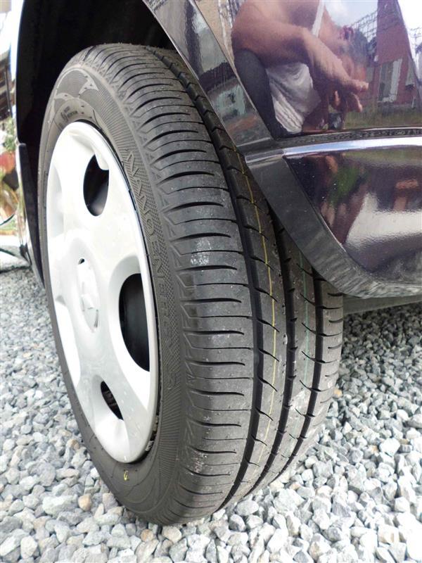 タイヤ取替えしました。