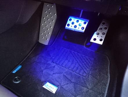 LEDフットライトイルミの装着