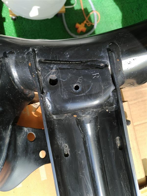 純正アクスル清掃 + 折れたボルトの救出は失敗