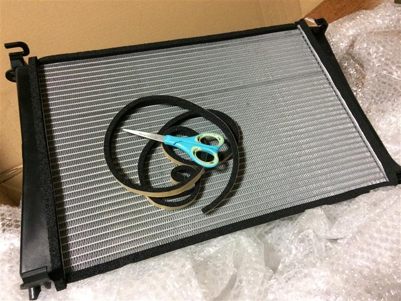[冷却系] ラジエーター交換 (準備編)