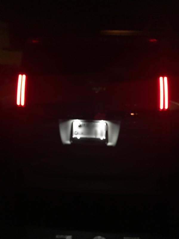 ナンバー灯LED化