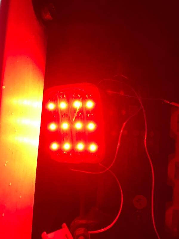 光るリフレクター