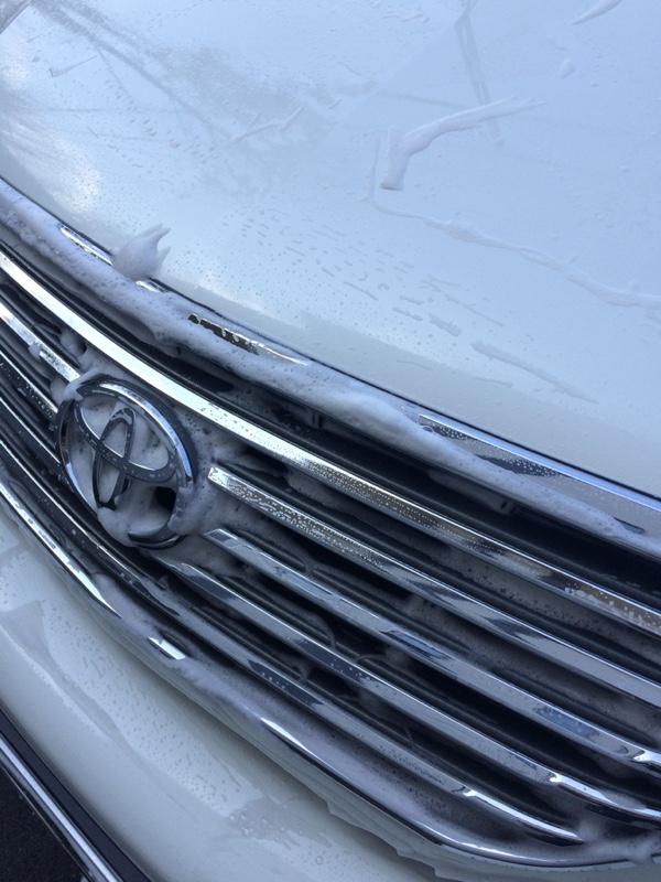 洗車&ガラコ!