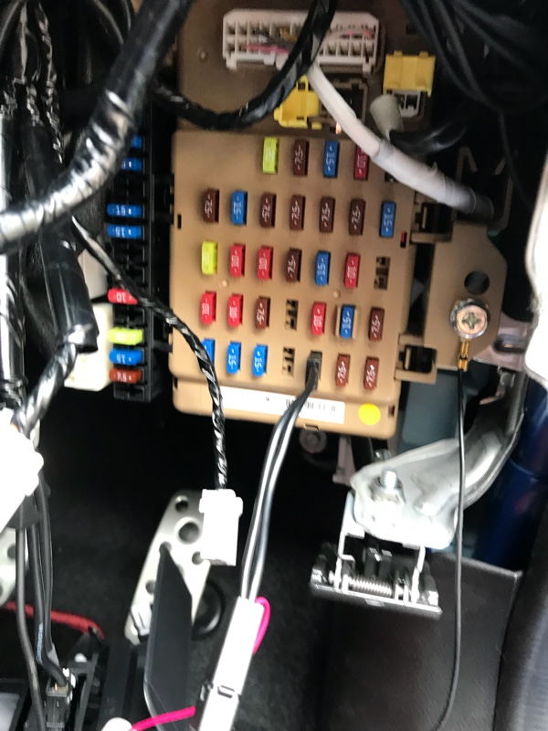 コムテック ZERO 602V取り付け