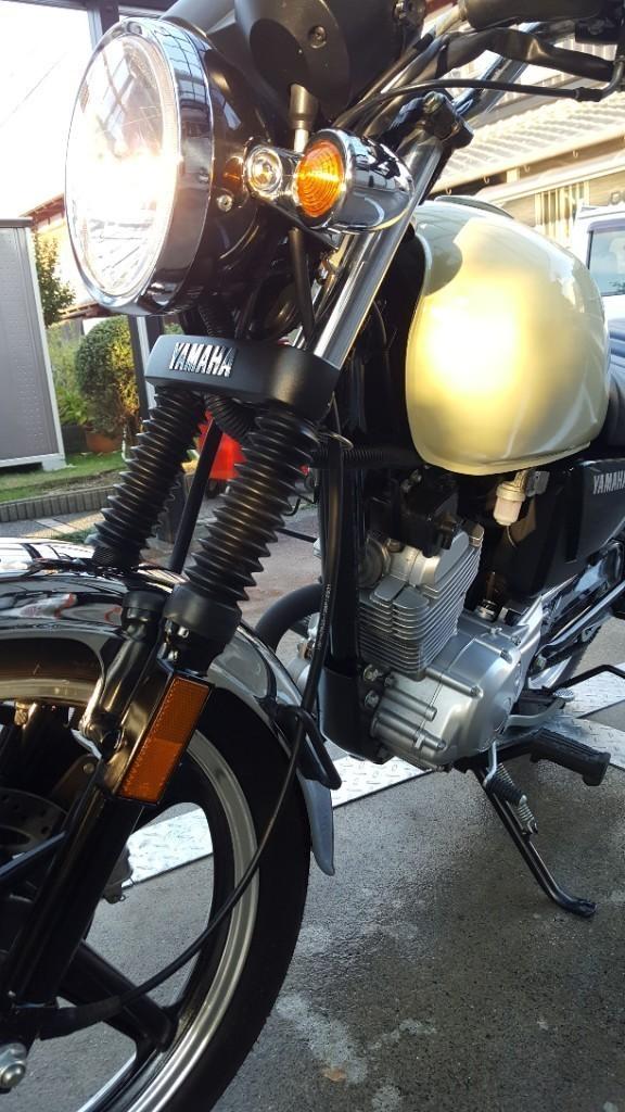 バイクの塗装