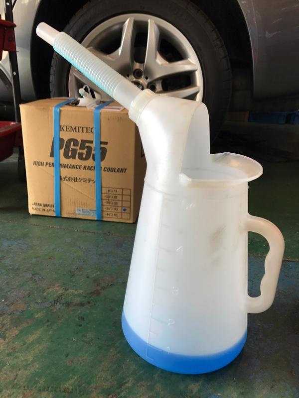 E46 オイル・冷却水 交換