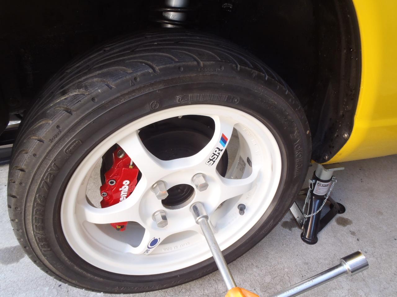 タイヤ・ホイール交換