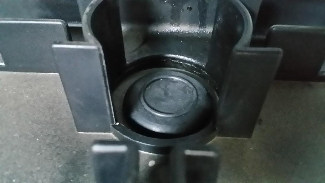 トランクルーム チェック リアシート裏側 編