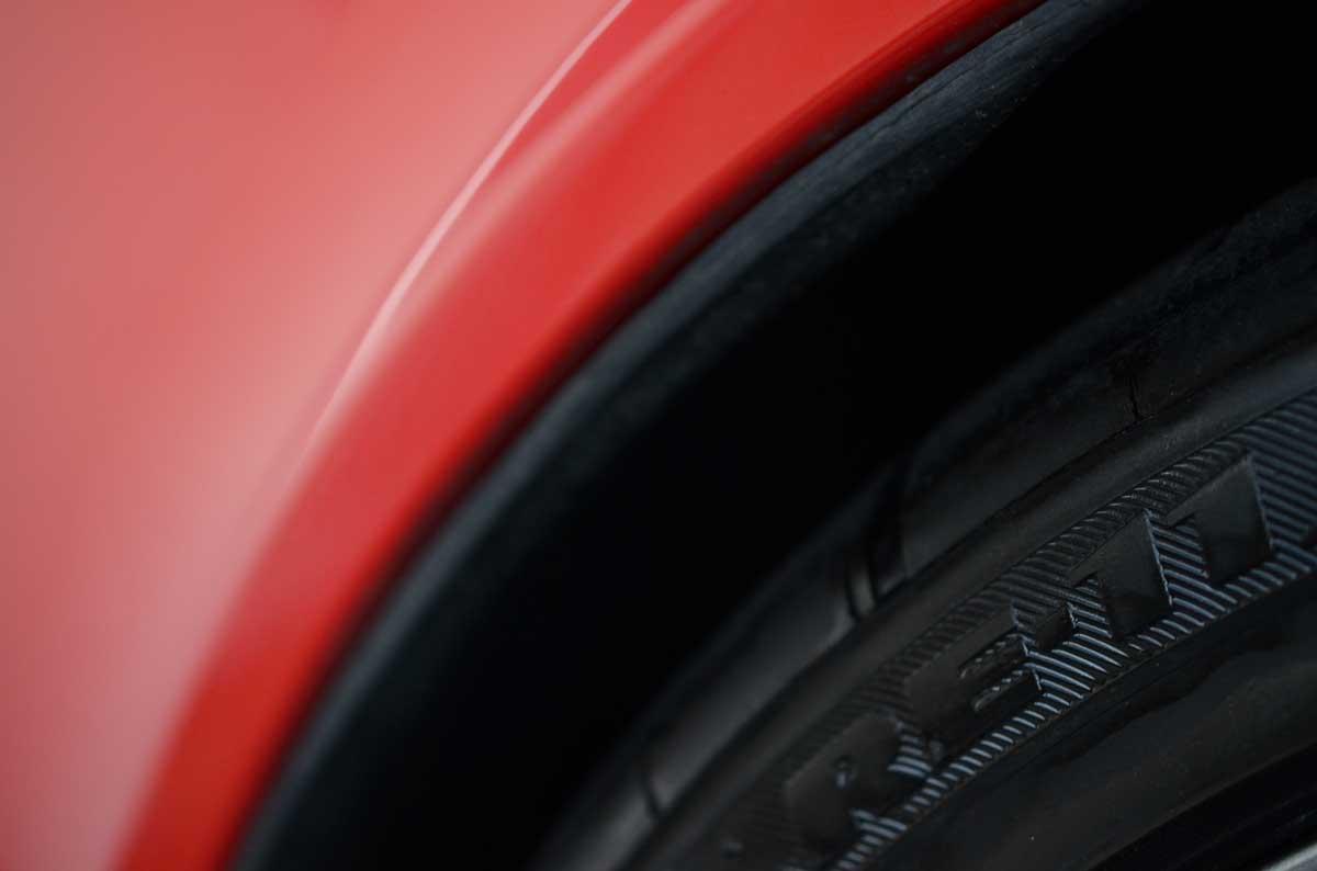 タイヤ交換&入庫