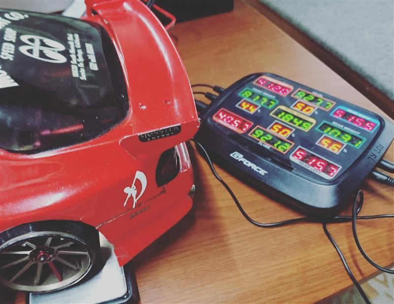 車重測定 3  〜メカ類置き直し〜