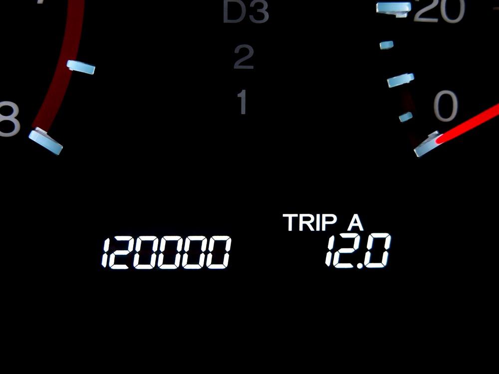 120,000Kmキリ番GET!!