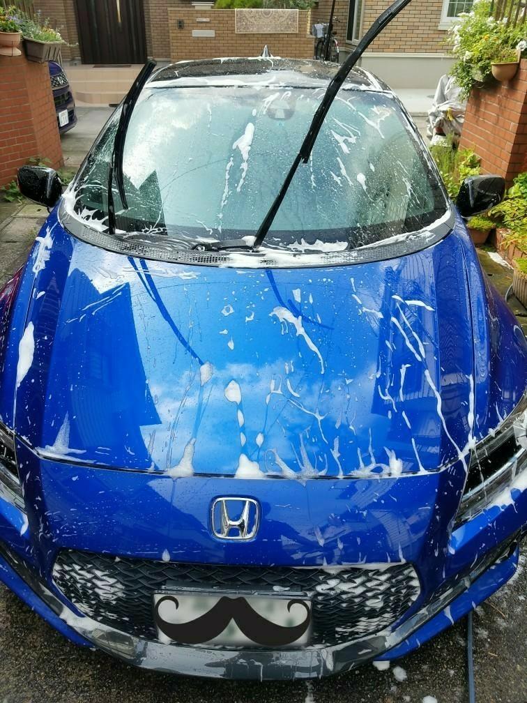 今日は洗車!!