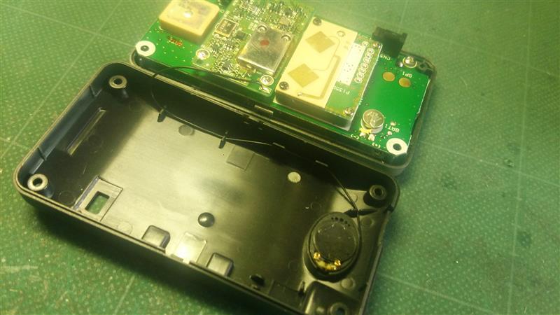 ユピテル RPR23sd  スピーカー交換