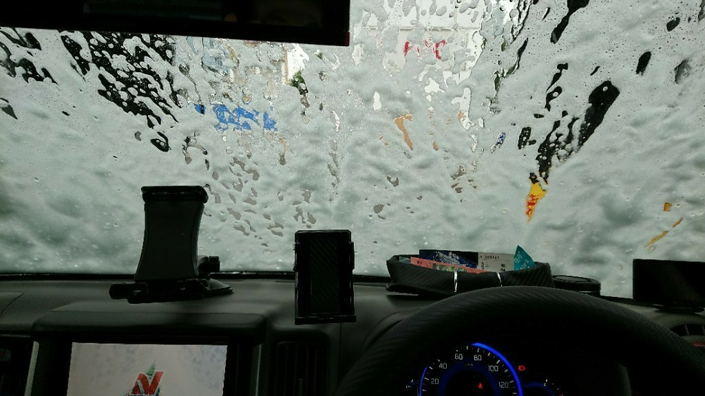 洗車 10月12日