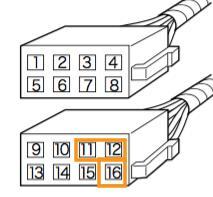 406 セダン ステアリングリモコンの利用のカスタム手順2