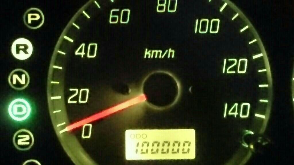 10万キロ達成
