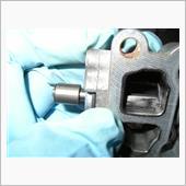 スロットルボディー(ISCV)の分解清掃(ついでにインタークーラー清掃):アイドリングのバラツキ5