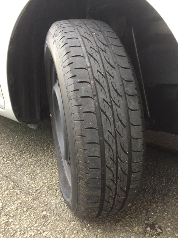 (記録用)タイヤ交換