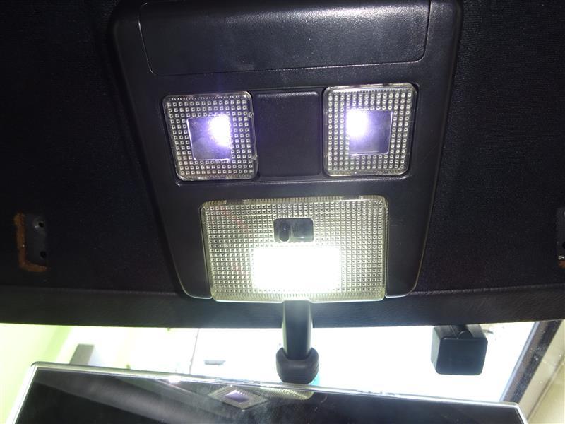 ルームランプ修理・LED化