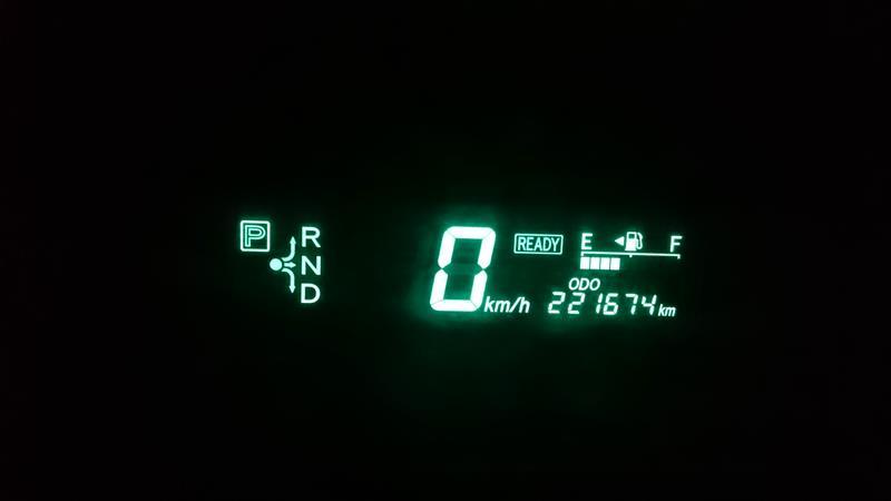 221,674kmアライメント調整