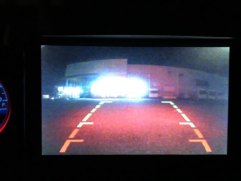 バックカメラをAUTO-VOX Cam 6へ交換