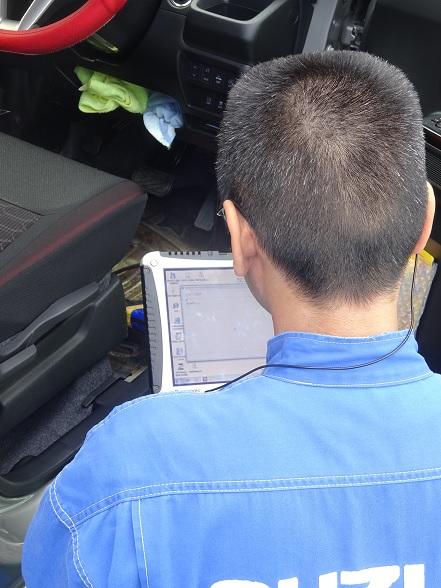 レーダーブレーキサポート修正プログラム