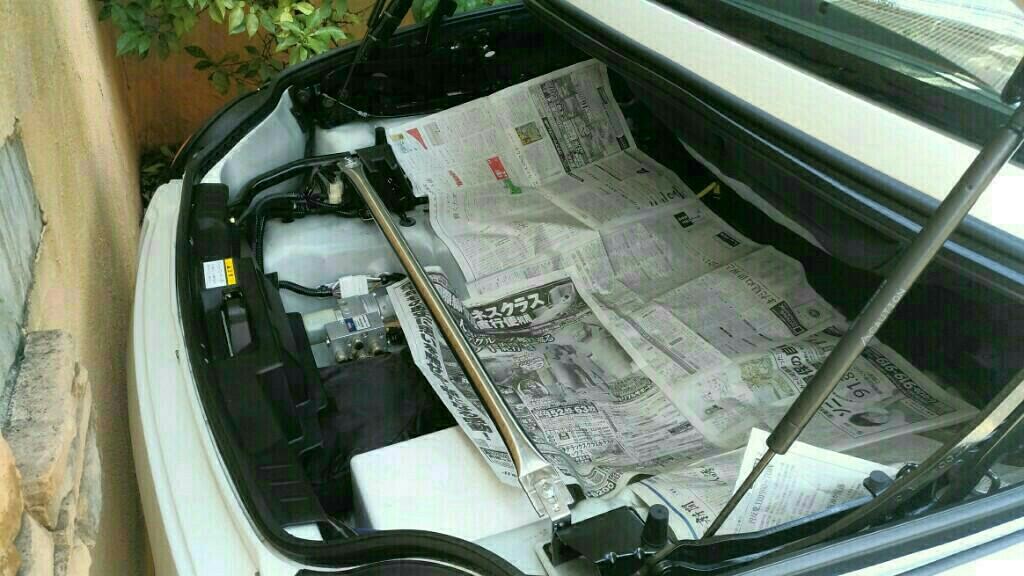トランク雨漏り たぶん原因発見!