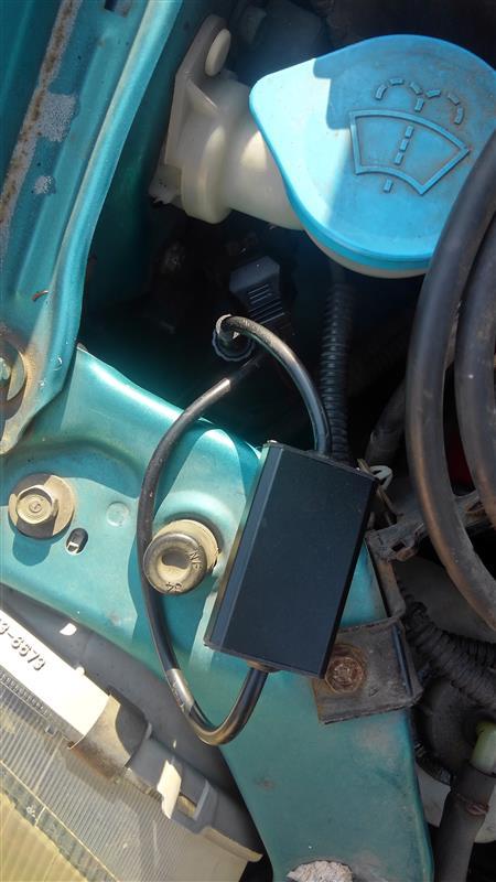 ヘッドライトLED コントローラー交換