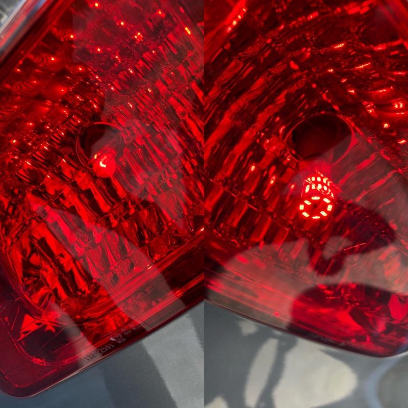 リアブレーキ&テールLED電球に交換