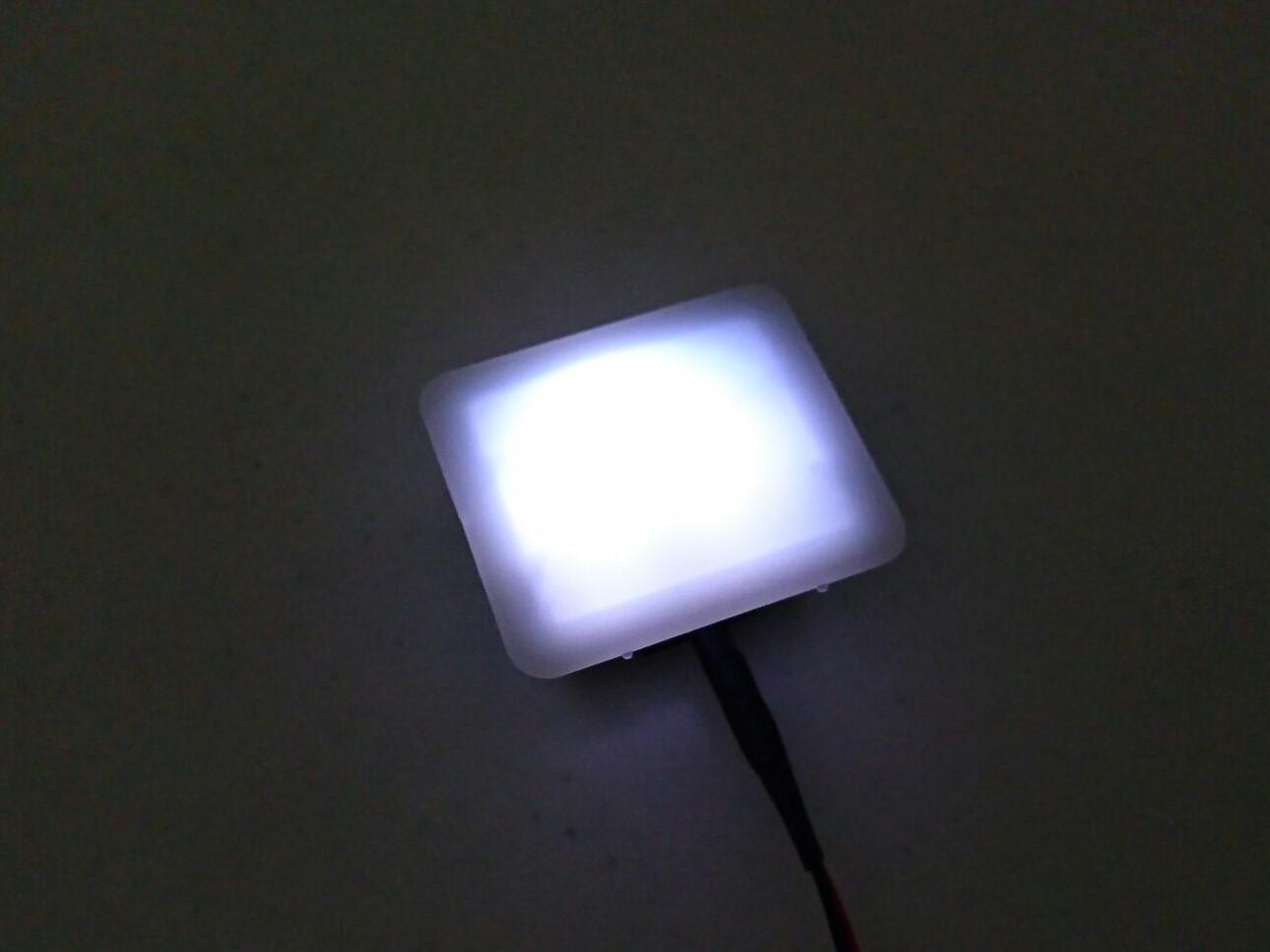 センタートレイイルミ LED化!