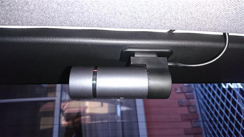 リア用ドライブレコーダー取付け 検証結果