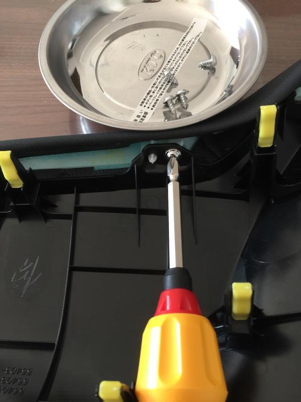 インストルメントフィニッシュパネル5Dカーボンシート貼り加工