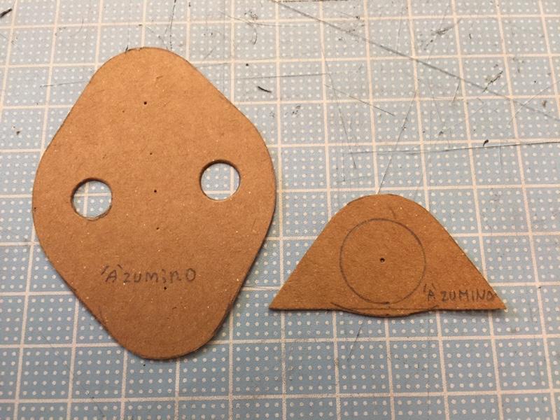 ドアスタビライザーを造る(型紙作成編)