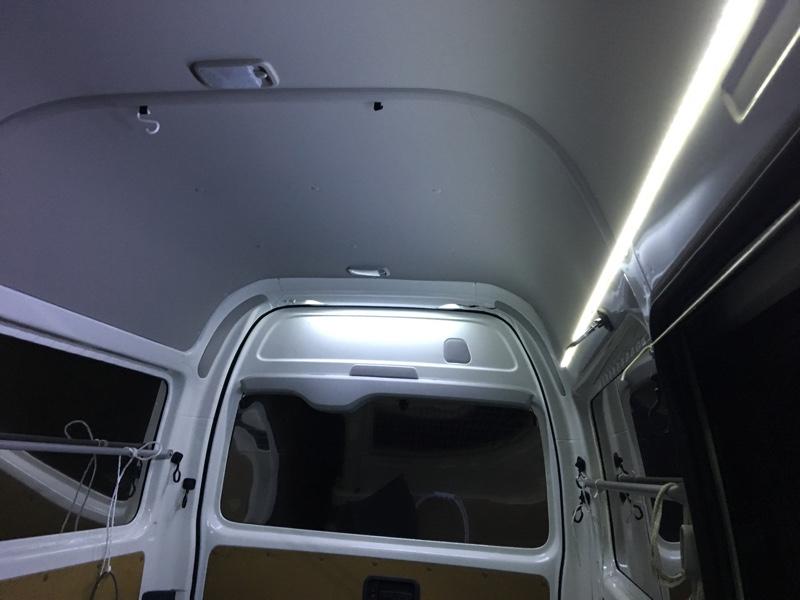 自作 LEDラゲッジランプ
