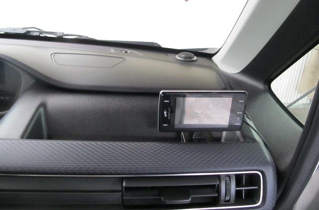 据置型レーダー探知機の設置、車体側内装痕跡を残さずしっかり固定