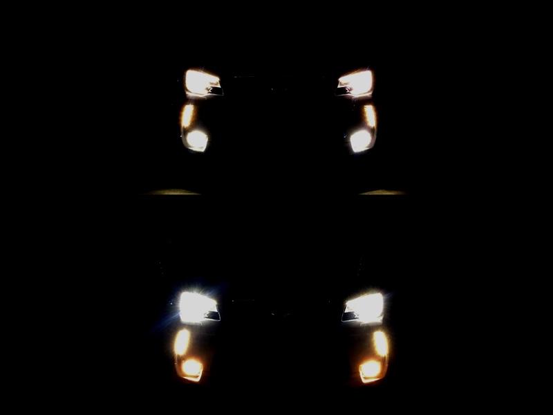 LEDフォグ に 置換!!